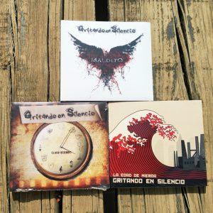 Contratiempo LP + Maldito LP + La Edad de Mierda LP